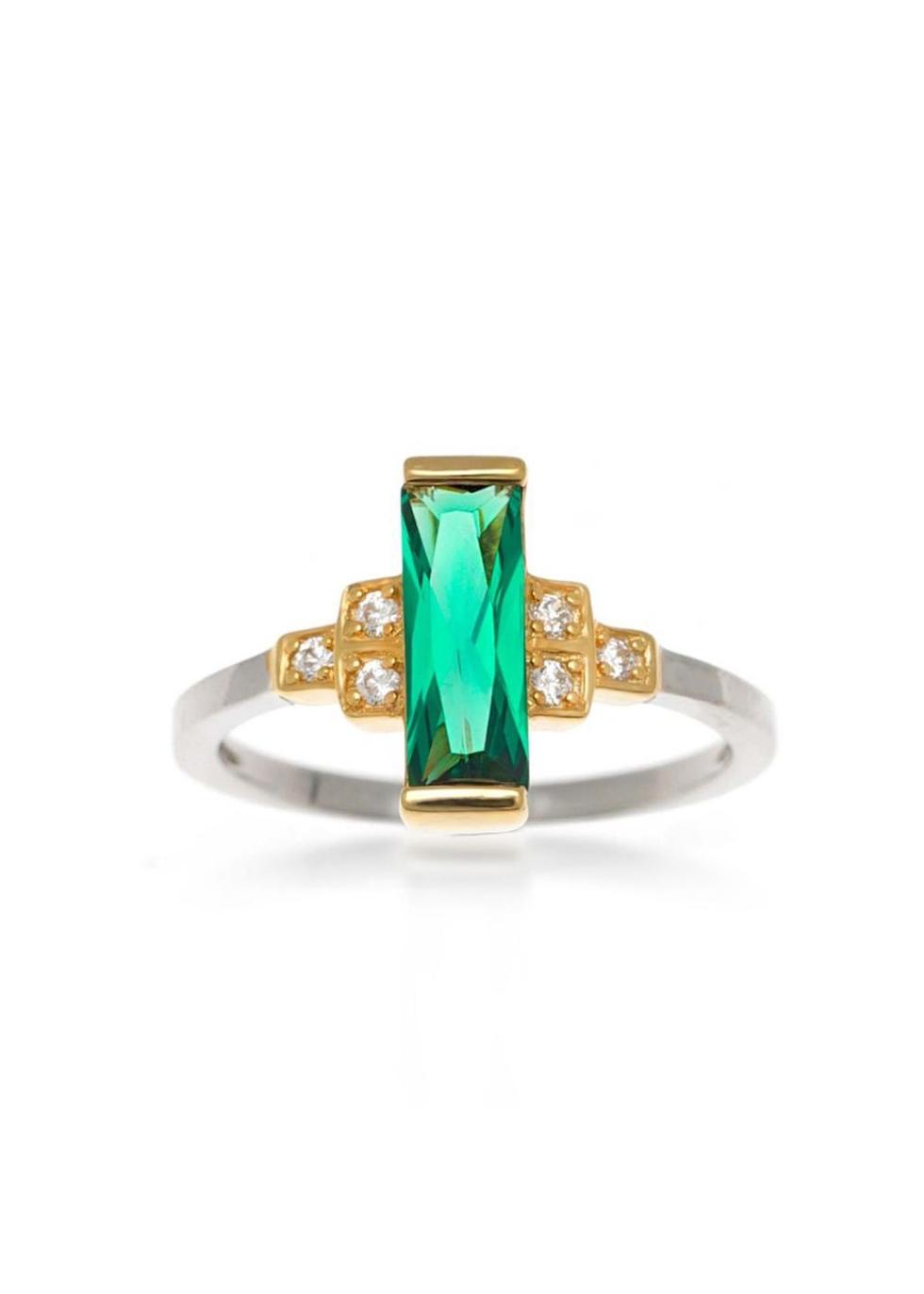 Audrey crystal-embellished ring