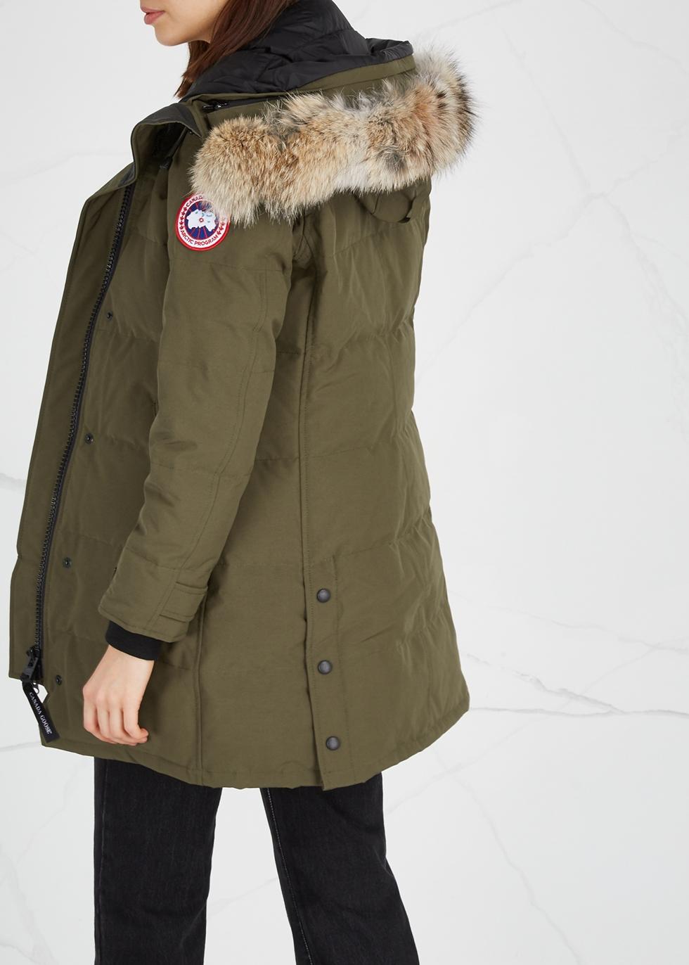 Shelburne Fusion Fit fur-trimmed parka - Canada Goose