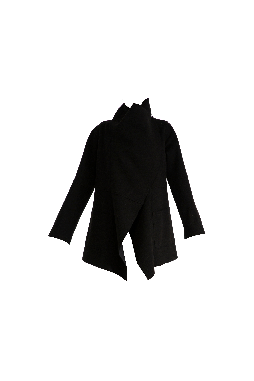 CHIARA BONI Leonida Black Coat