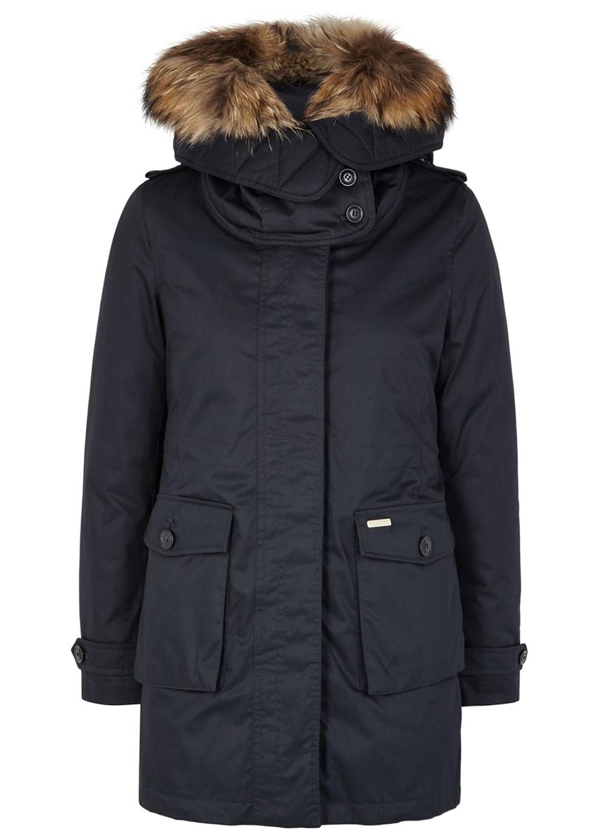 205cdeee22bc Scarlett navy shell jacket and cotton parka ...