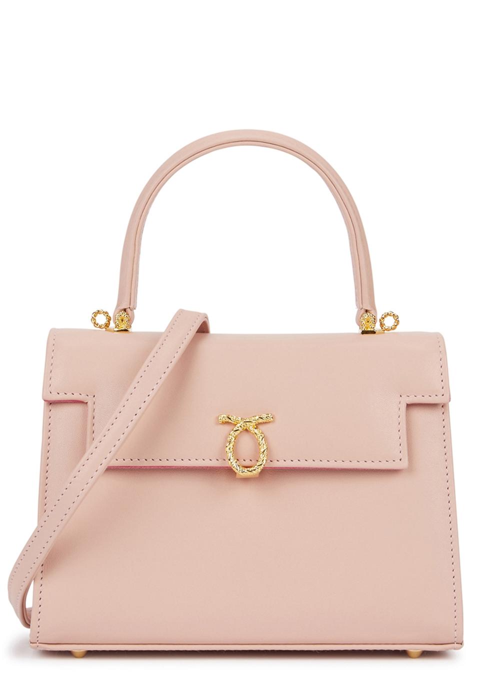 LAUNER Judi Rose Leather Shoulder Bag