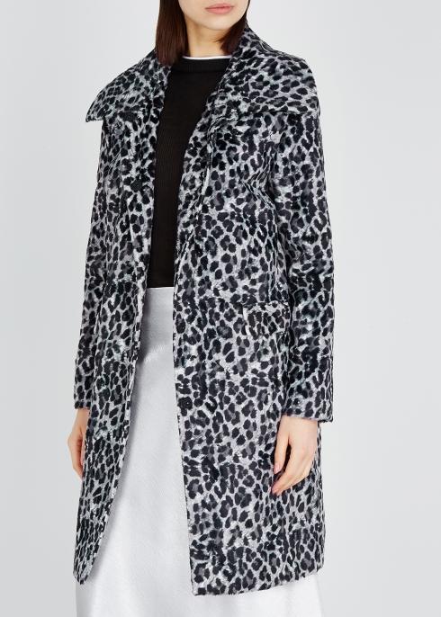 2b431dc53c Shrimps Erin leopard-print faux-fur coat - Harvey Nichols