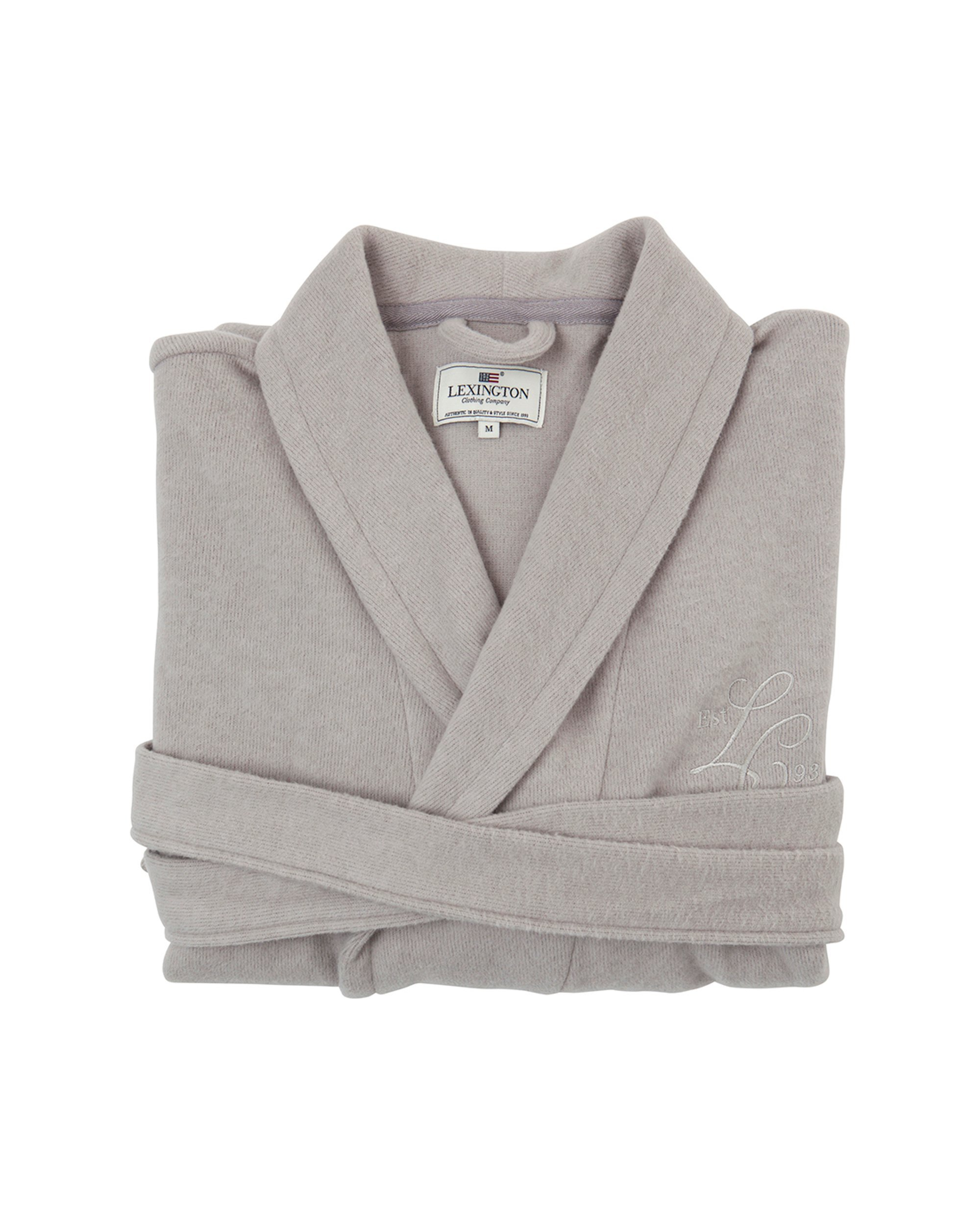 LEXINGTON Vendela Cotton-Cashmere Robe M