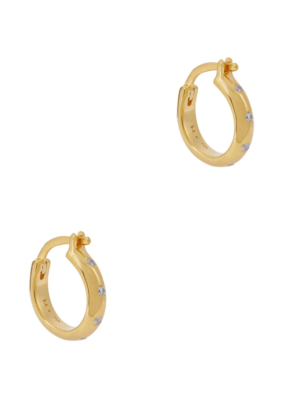 MISSOMA Solar 18Ct Gold Vermeil Hoop Earrings