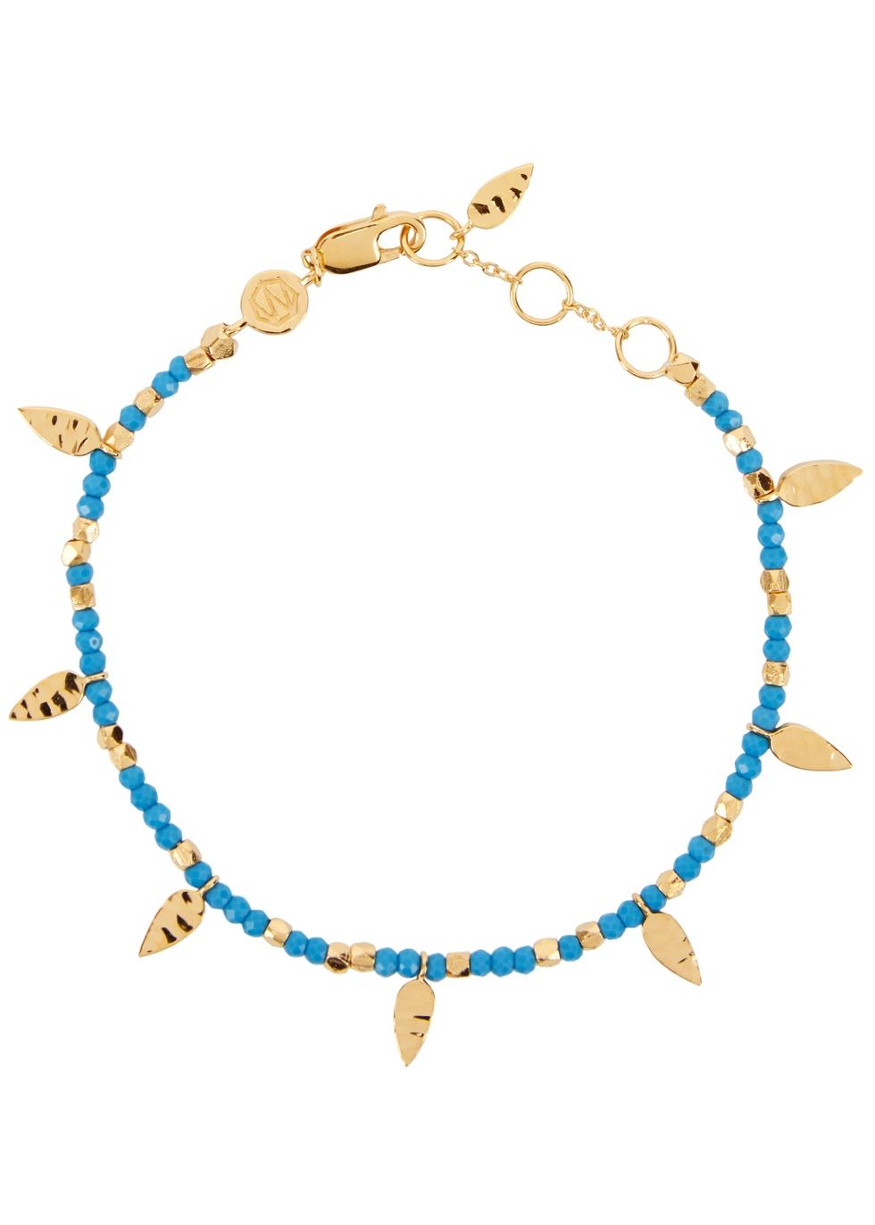 MISSOMA Turquoise Gold-Plated Bracelet