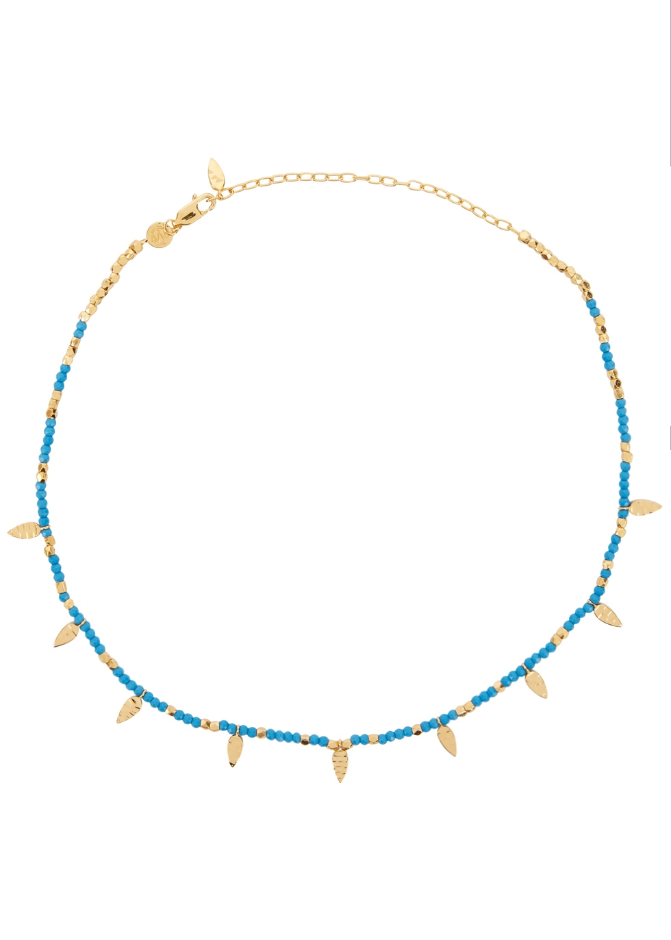 MISSOMA Turquoise Howlite Beaded Choker