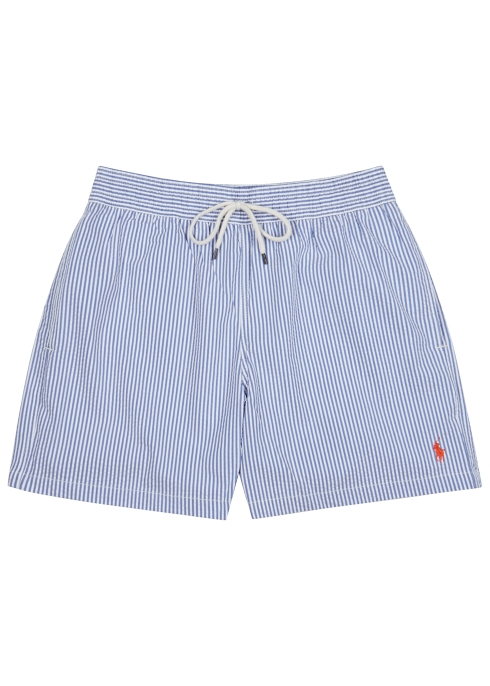 79968854d9 Polo Ralph Lauren Traveller striped seersucker swim shorts - Harvey ...