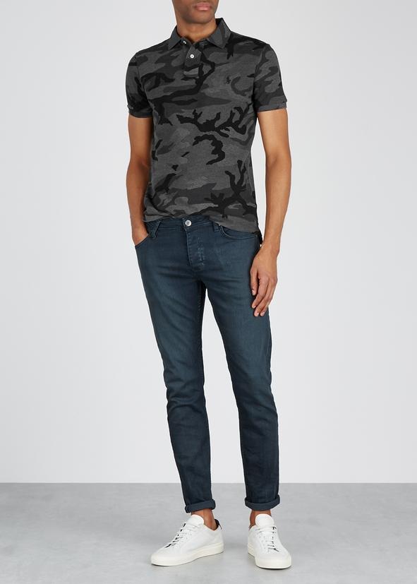 Camouflage-print cotton polo shirt Camouflage-print cotton polo shirt. New  Season. Polo Ralph Lauren 90ebee289e
