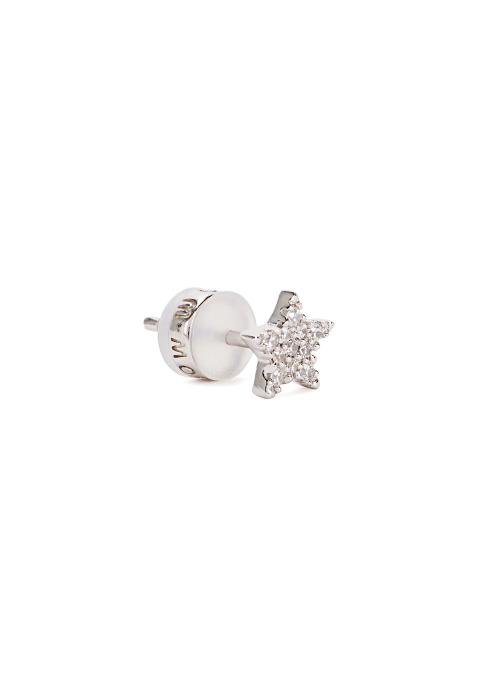 Mismatch Sterling Silver Stud Earrings Set Apm Monaco