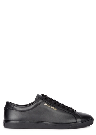 2d33b1d1d98 Andy black leather trainers Andy black leather trainers. Saint Laurent