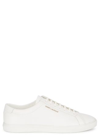 309ef0e9b54 Andy white leather trainers Andy white leather trainers. Saint Laurent.  Andy white leather trainers
