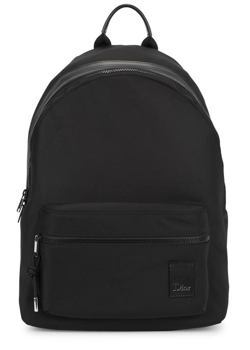 Dior Homme Black nylon backpack - Harvey Nichols 98cea44983c37