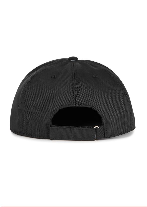 7874a4c34a0 Black logo-embroidered canvas cap Black logo-embroidered canvas cap