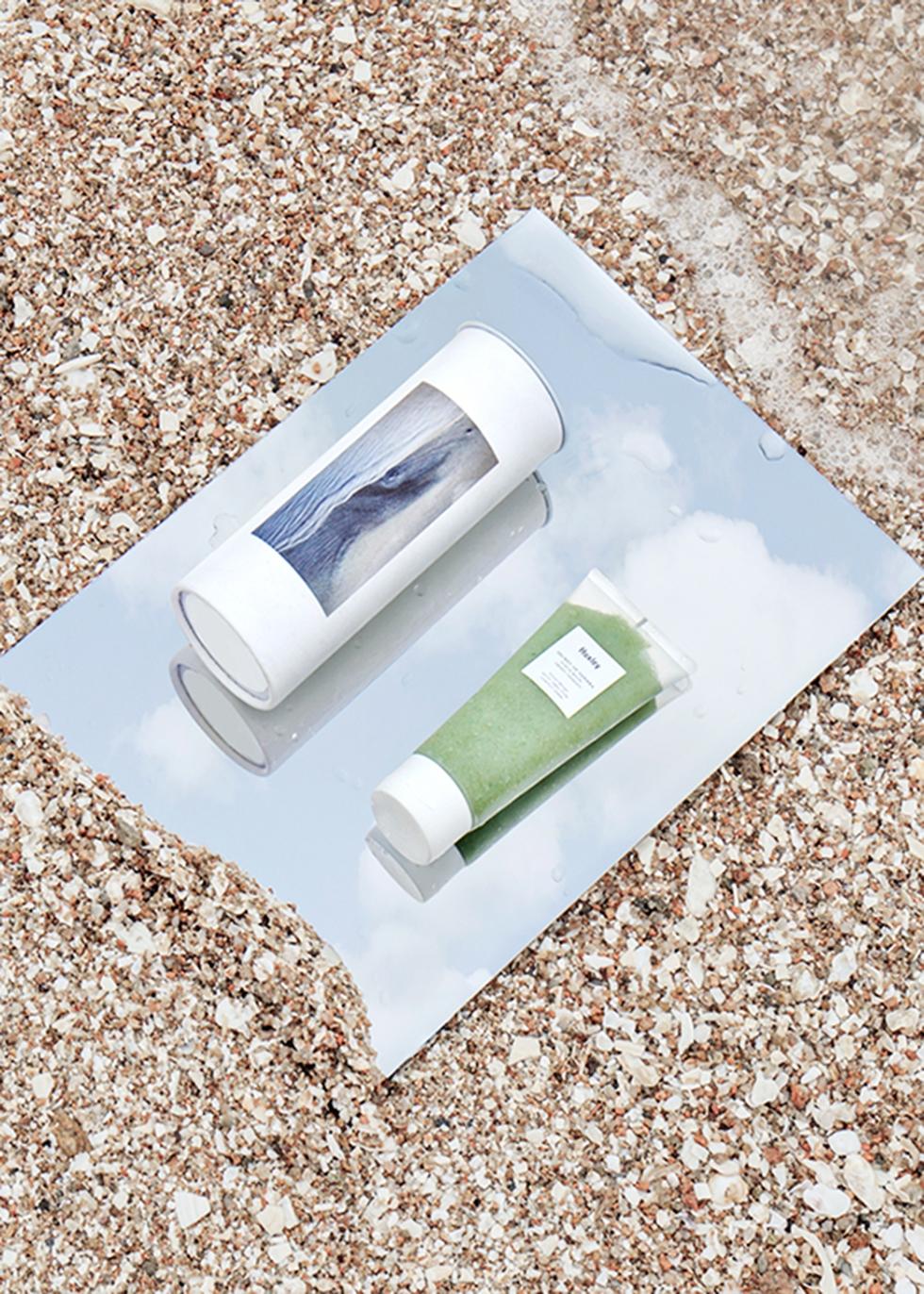 Wash-Off Healing Mask: Keep Calm 120ml - HUXLEY