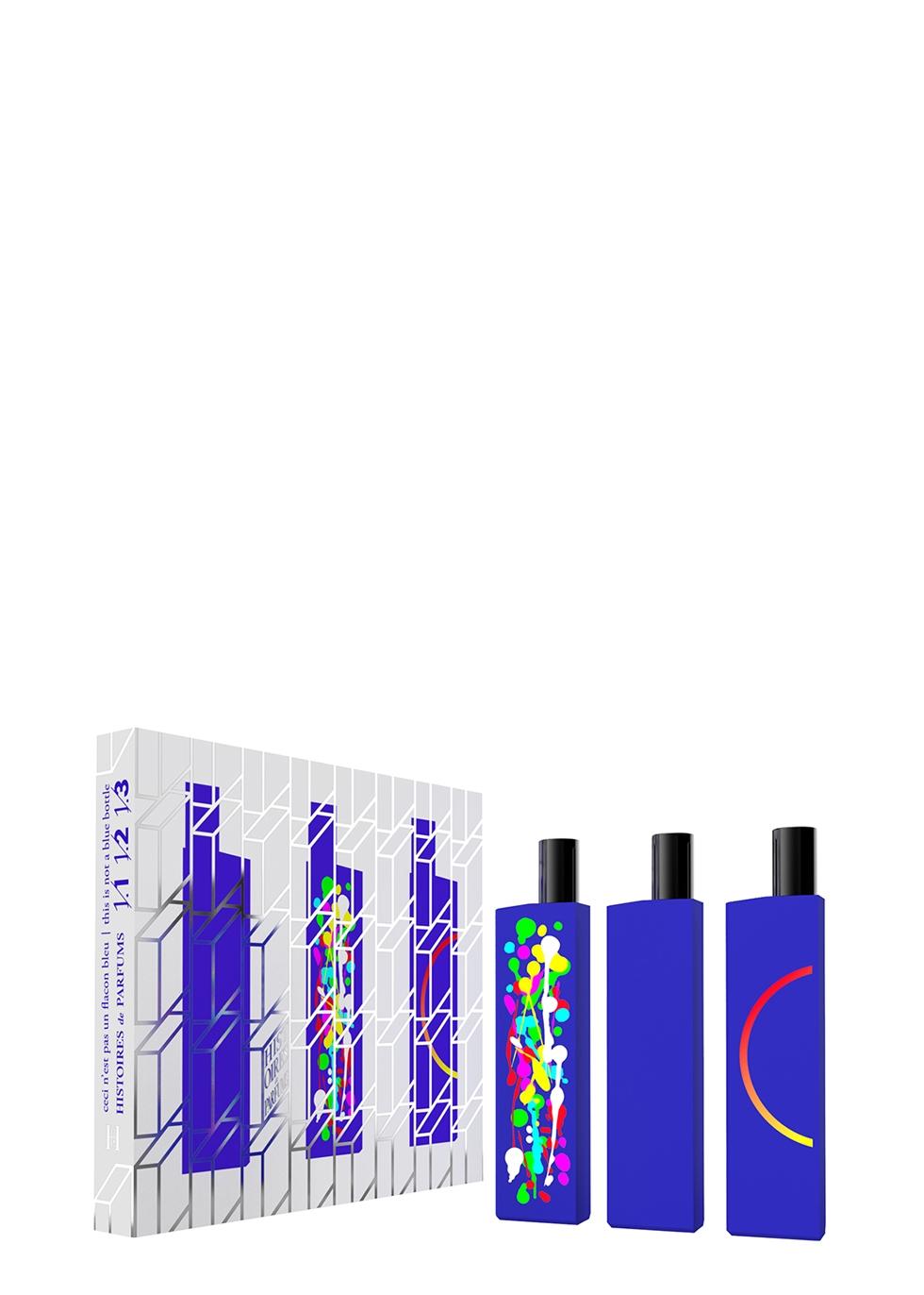 This Is Not A Blue Bottle Set - 3 x 15ml - Histoires de Parfums