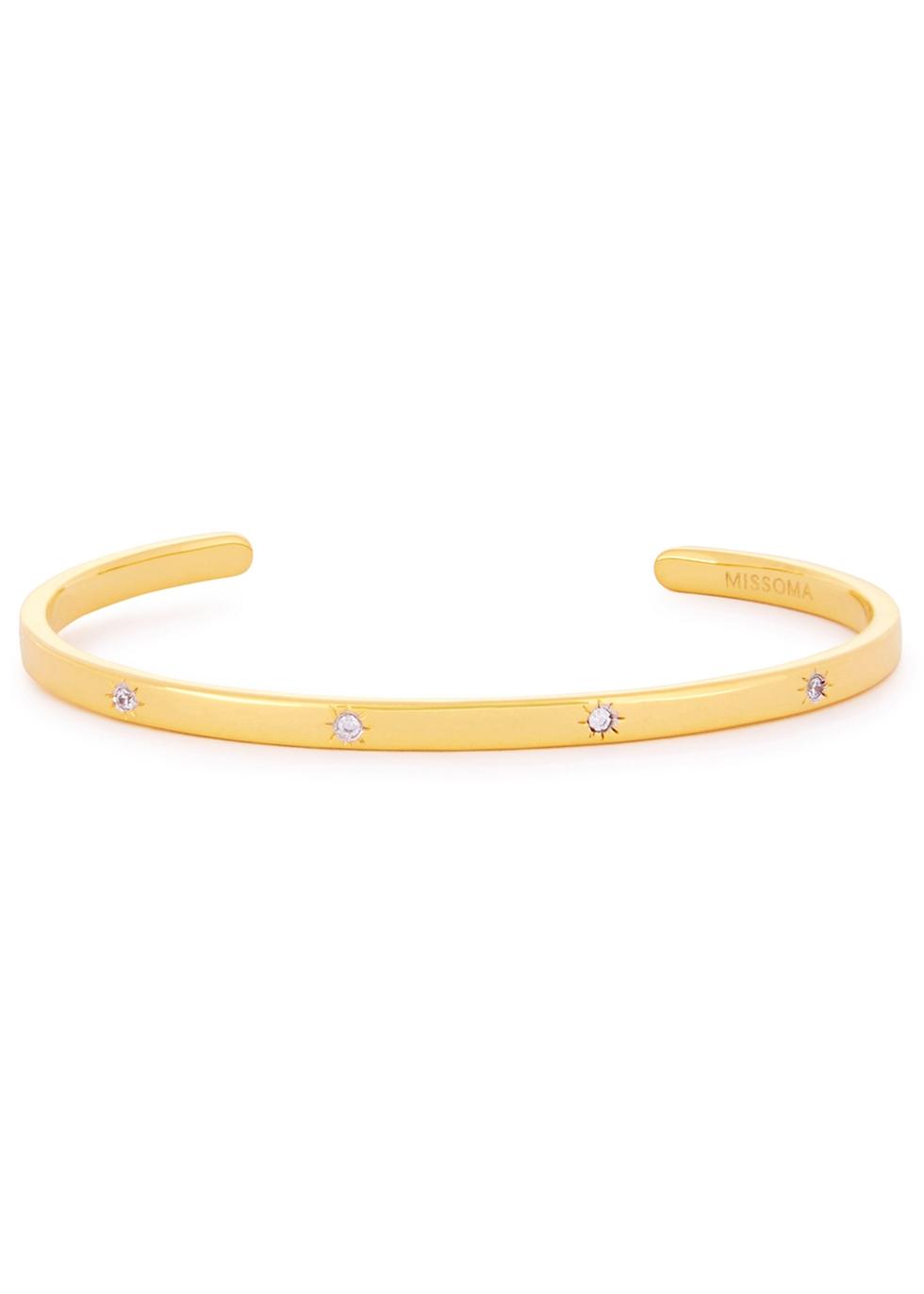 MISSOMA Interstella 18Ct Gold Vermeil Cuff