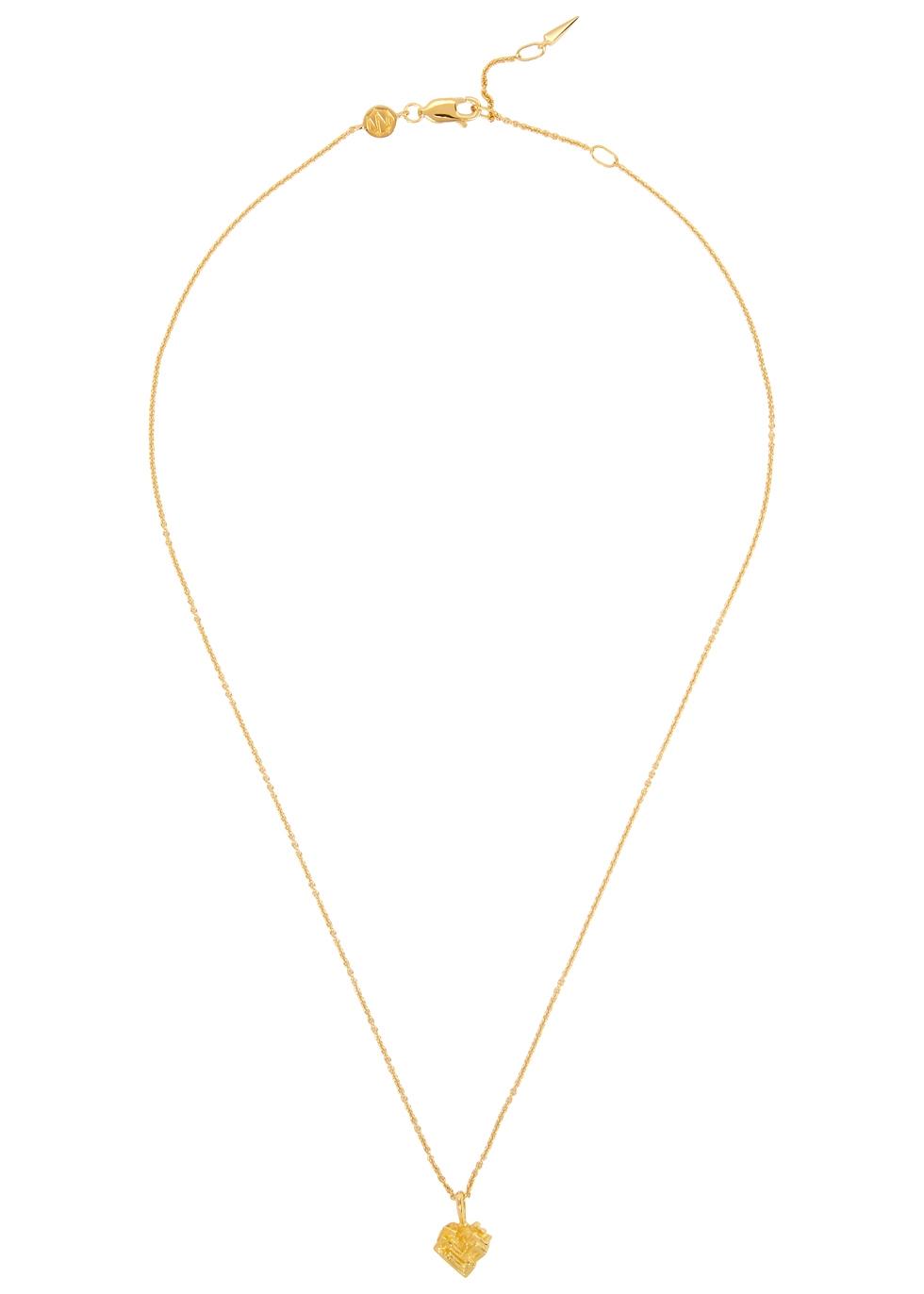 MISSOMA Bismuth Terra 18Ct Gold Vermeil Necklace