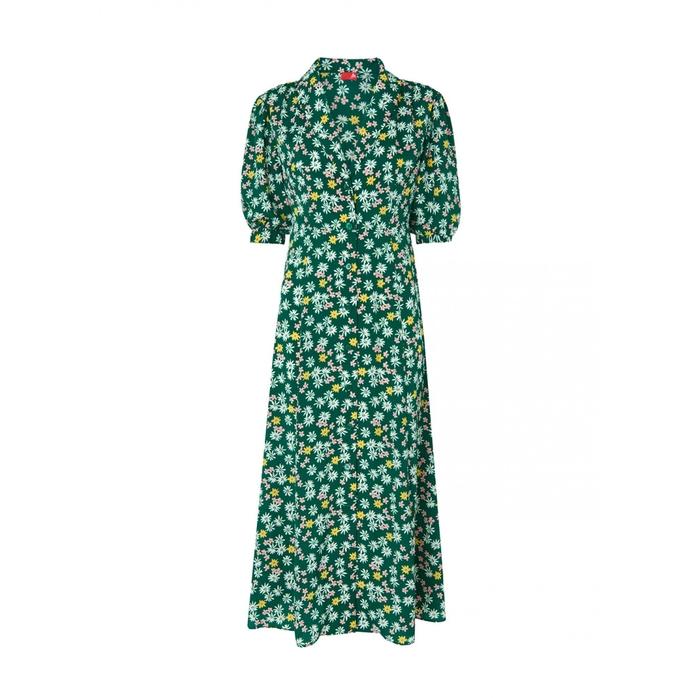Kitri Siena floral tea dress