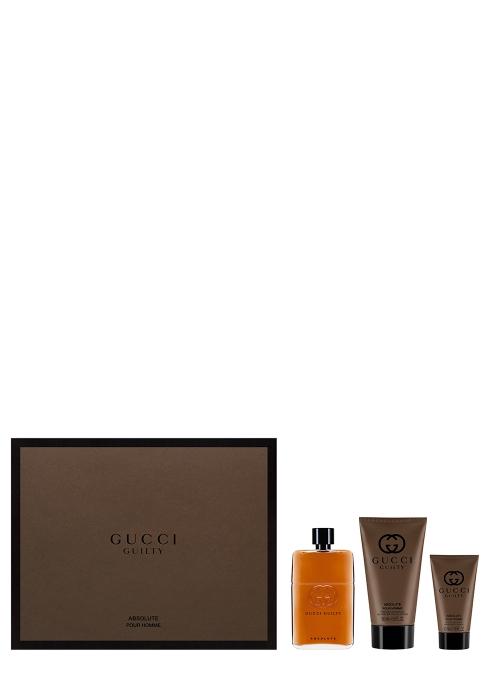 97df1bf388d Gucci Gucci Guilty Absolute Eau de Parfum For Him Gift Set 90ml ...