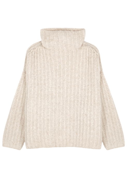 71802cce414a0b Free People Fluffy Fox chunky-knit jumper - Harvey Nichols