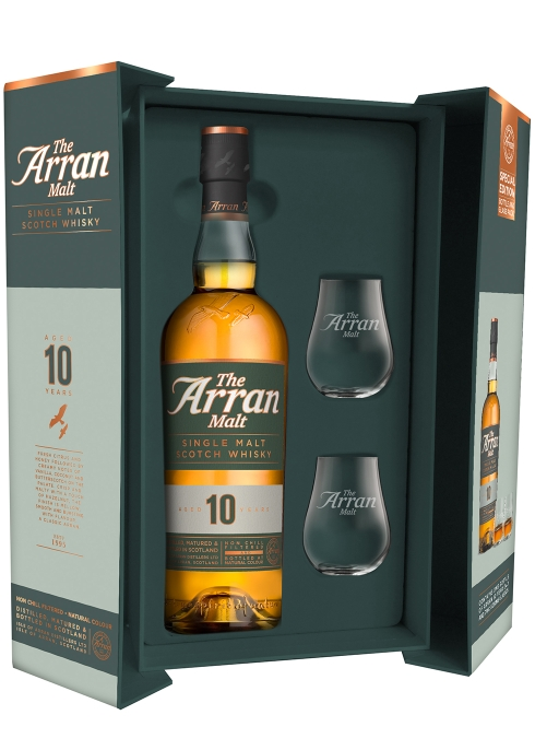 10 Year Old Single Malt Scotch Whisky Gift Pack