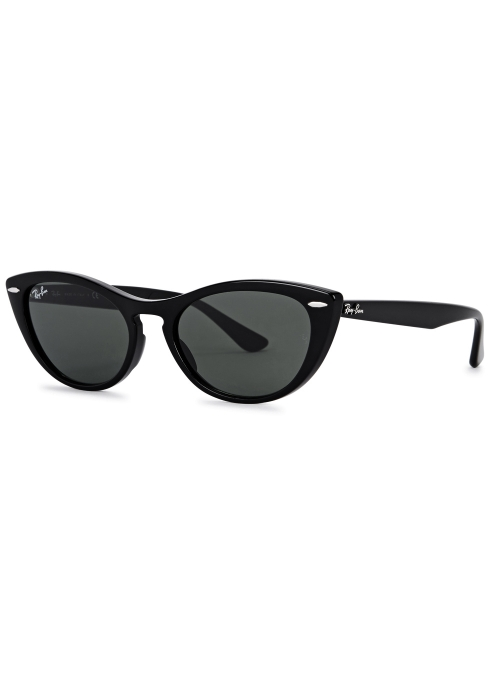 d44c74e8f5cbb Ray-Ban Nina black G-15 cat-eye sunglasses - Harvey Nichols