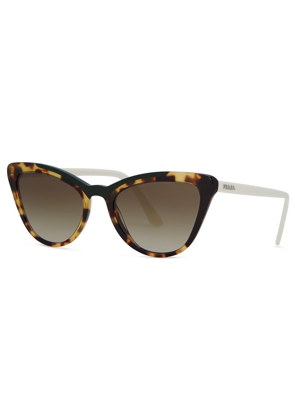 04167652de ... new arrivals tortoiseshell cat eye sunglasses prada 3e216 ab09f ...