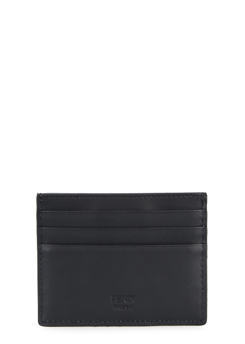 8743c249 Fendi Monster leather card holder - Harvey Nichols