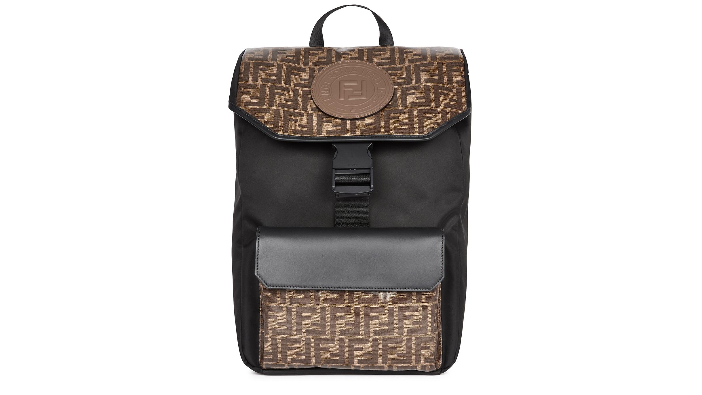 89c53d5d Fendi FF monogrammed nylon backpack - Harvey Nichols