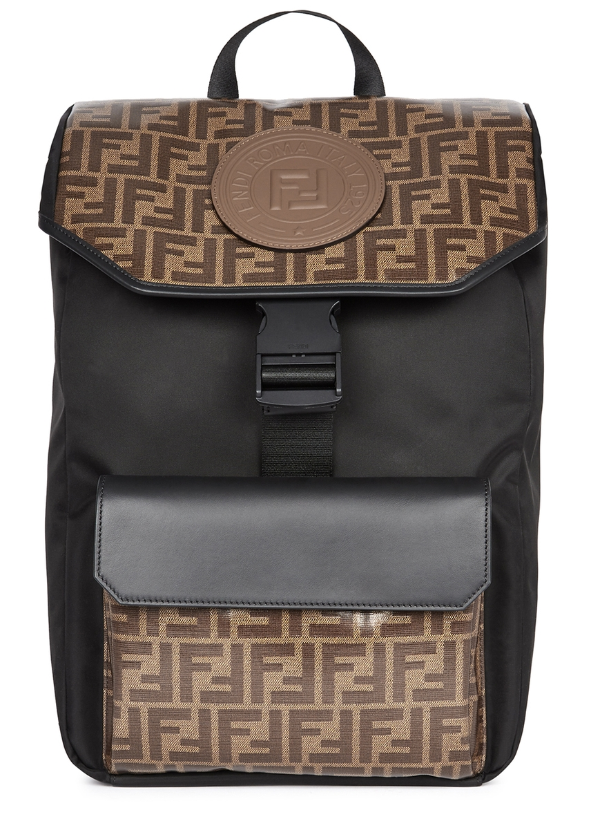 ef6ff32f4f FF monogrammed nylon backpack ...