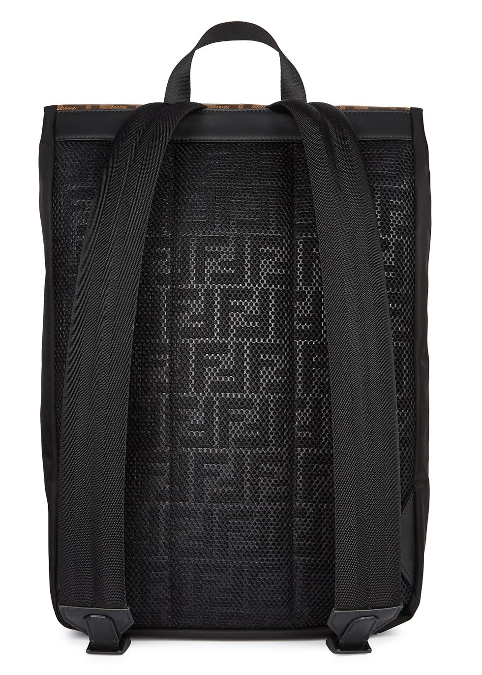 8f66c337a6f6 Fendi FF monogrammed nylon backpack - Harvey Nichols