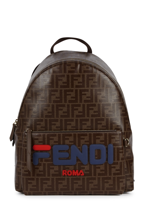 543bffb56a Fendi X Fila monogrammed backpack - Harvey Nichols