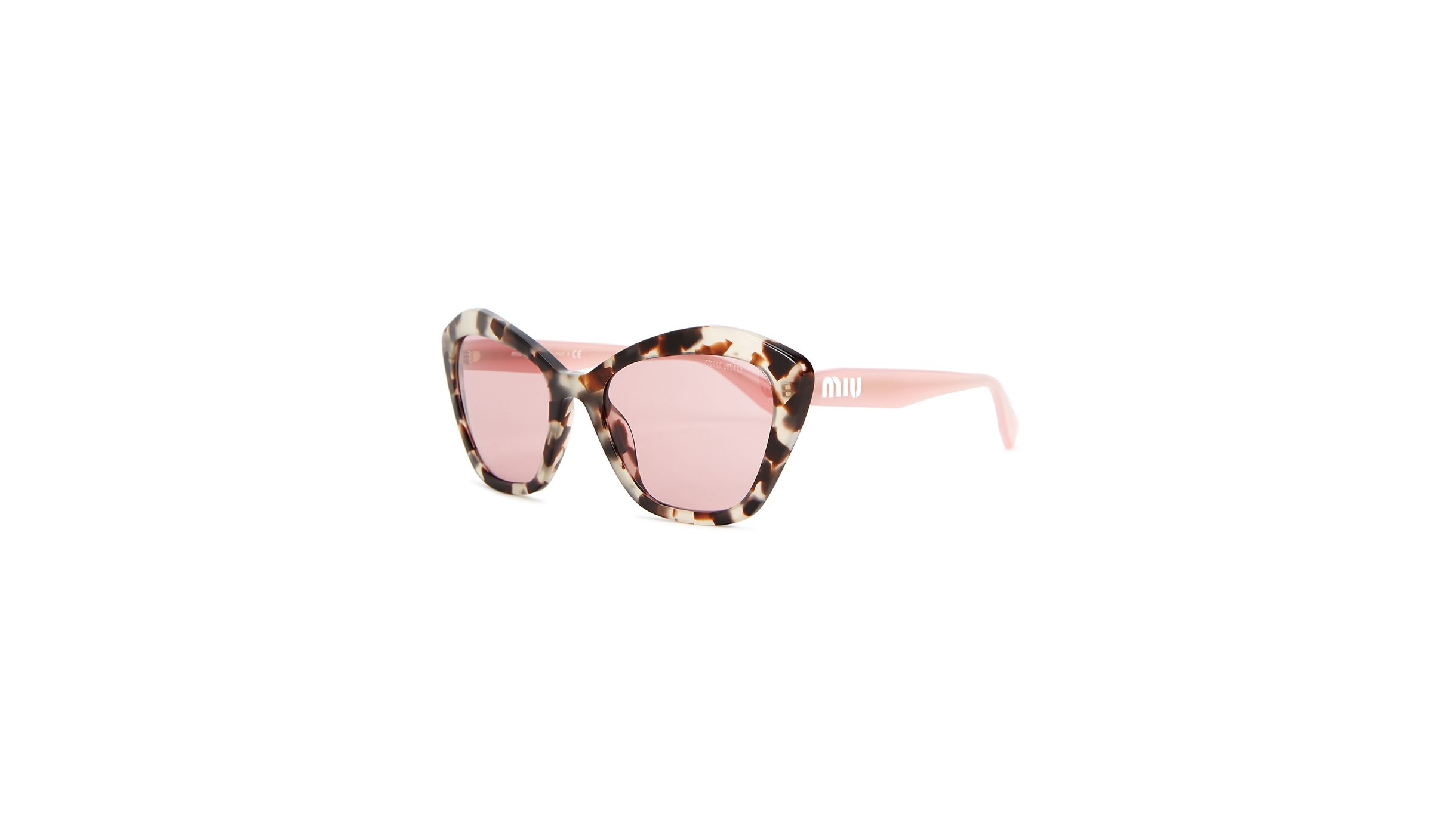 1536d8d05d Miu Miu Tortoiseshell cat-eye sunglasses - Harvey Nichols