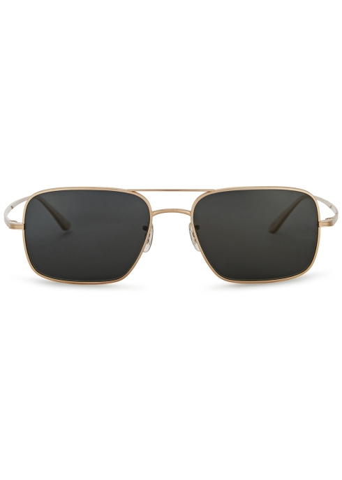 649ff61dd96 Oliver Peoples X The Row Victory L.A polarised sunglasses - Harvey ...