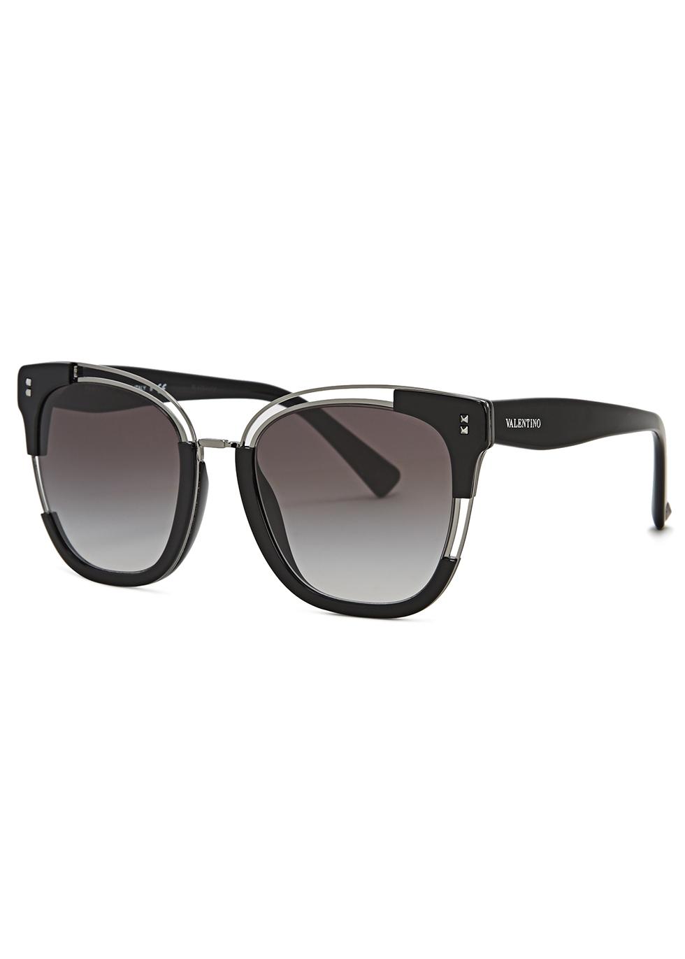 Valentino Garavani oval-frame sunglasses