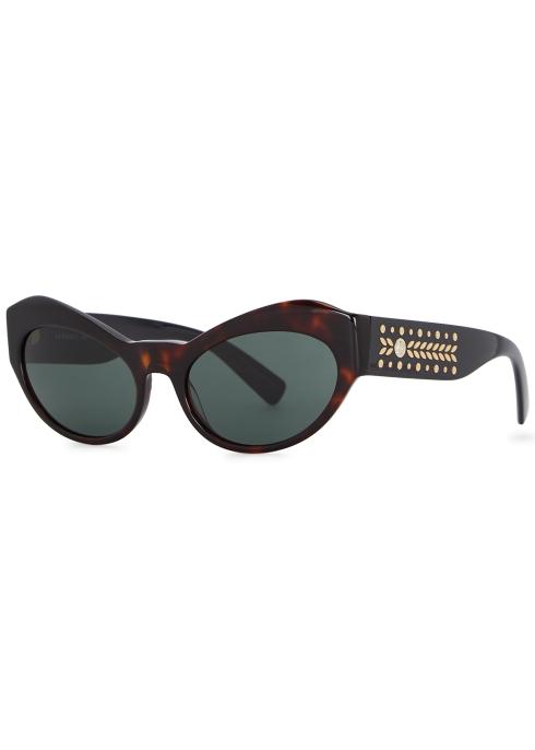 a6c1fbbf2c Versace Tortoiseshell cat-eye sunglasses - Harvey Nichols
