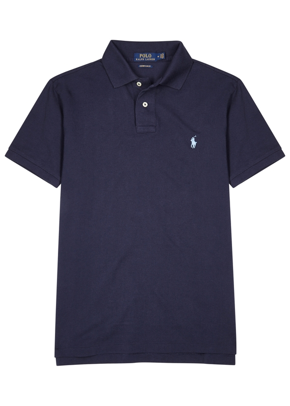 0d7a1f394d7 Polo Ralph Lauren. Jacquard-knit wool-blend cardigan. £435.00 · Navy slim  piqué cotton polo shirt ...