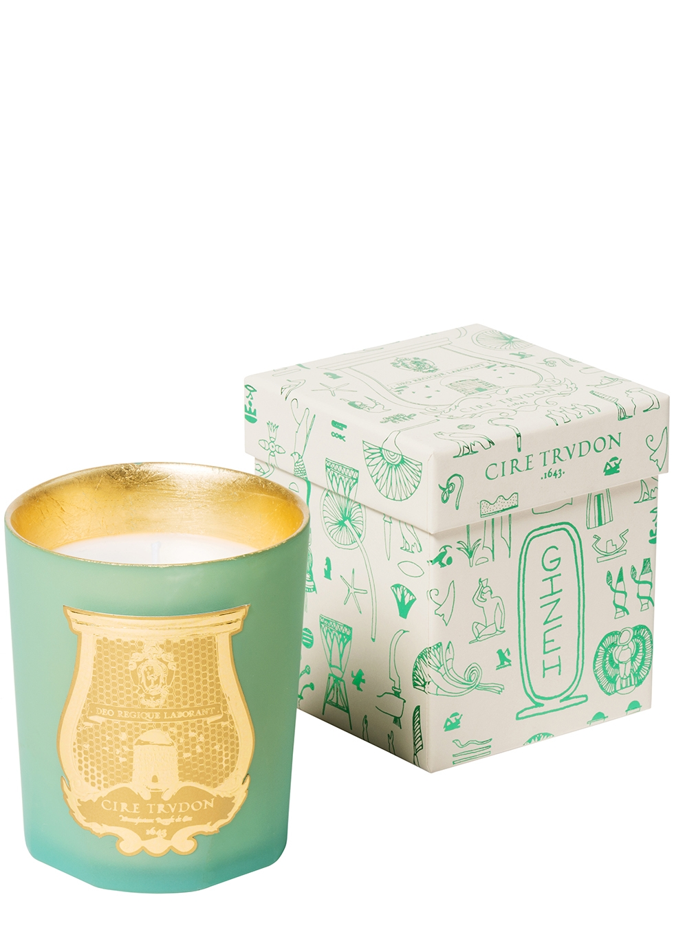 Gizeh Inalterable Pyramids Candle 270g - TRUDON