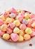 Rainbow Fruit Meringue Kisses 75g - Flower & White