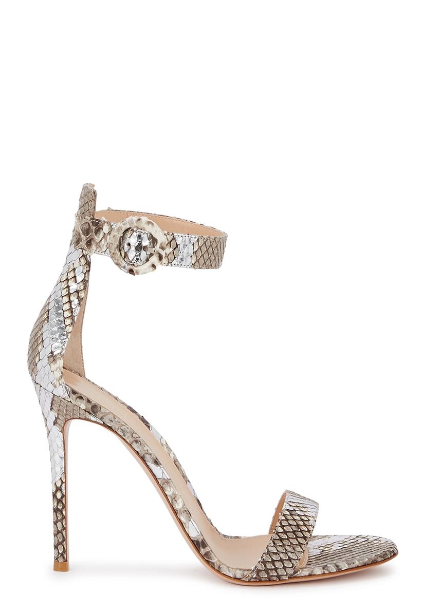 024169e0ea3 Reine 105 python sandals Reine 105 python sandals. New In. Gianvito Rossi