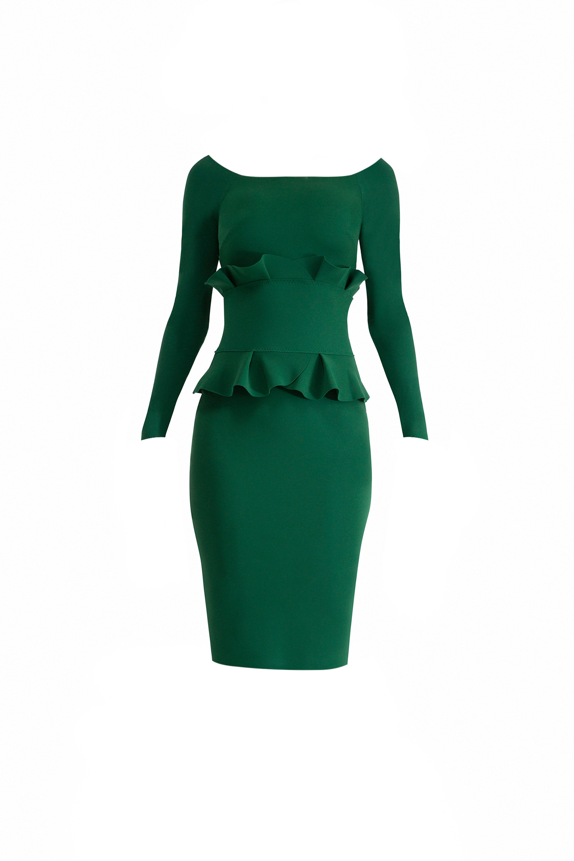 CHIARA BONI Erin Pine Dress