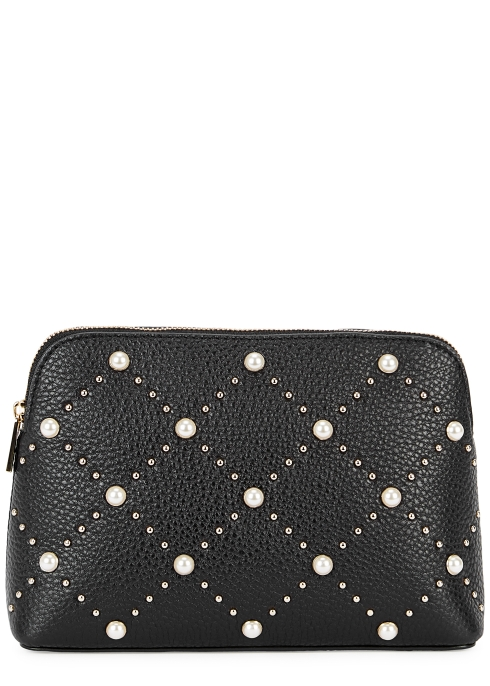 52b991e9220f Kate Spade New York Hayes Briley small leather makeup bag - Harvey ...