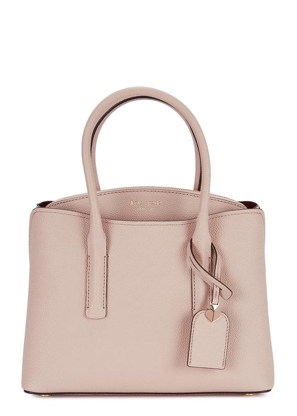 10d4e0cd237d Kate Spade New York. Nicola pink leather cross-body bag. £395.00 · Margaux  medium light pink satchel ...
