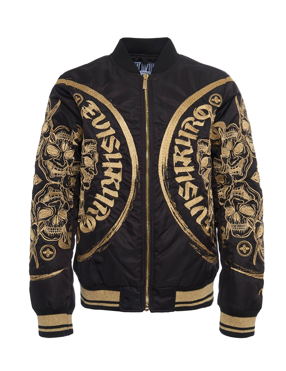 EVISU Ma-1 Jacket With Signature Embroidery