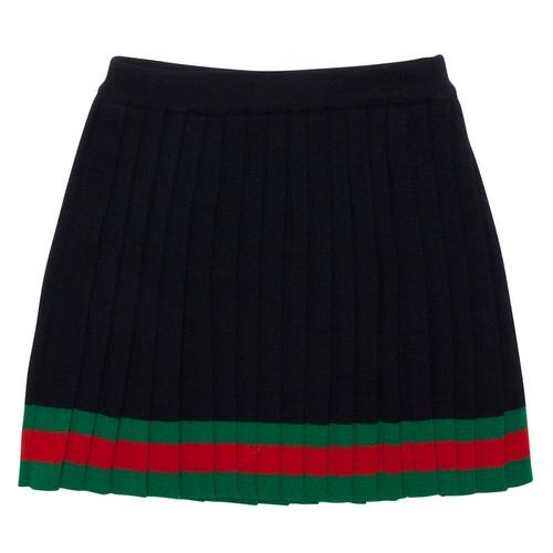 Gucci Pleated Web Skirt thumbnail