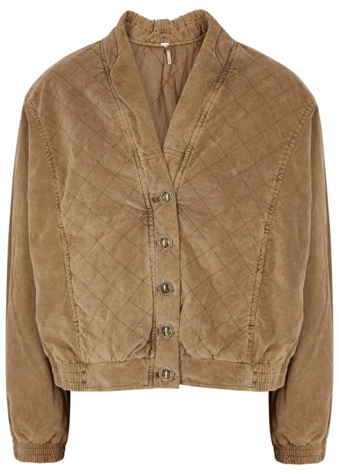 fec8e403263 Free People Main Squeeze corduroy jacket - Harvey Nichols