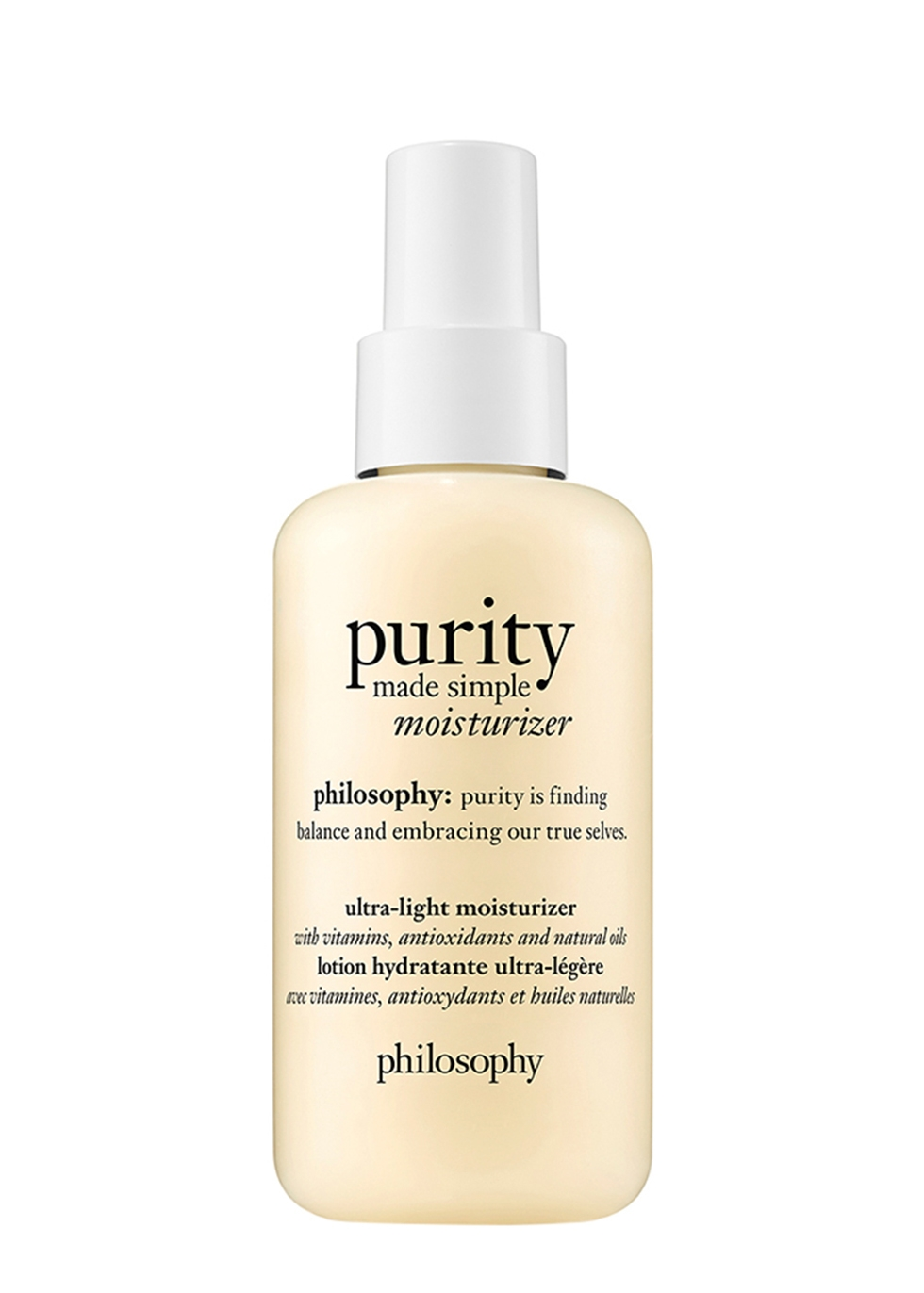 Purity Ultra-Light Moisturizer 141ml - PHILOSOPHY
