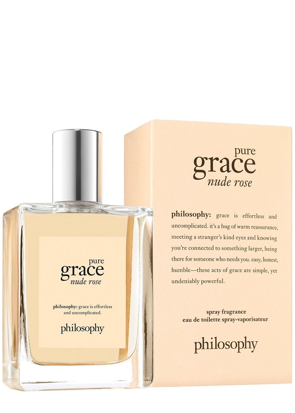 Pure Grace Nude Rose Eau De Toilette 60ml - PHILOSOPHY
