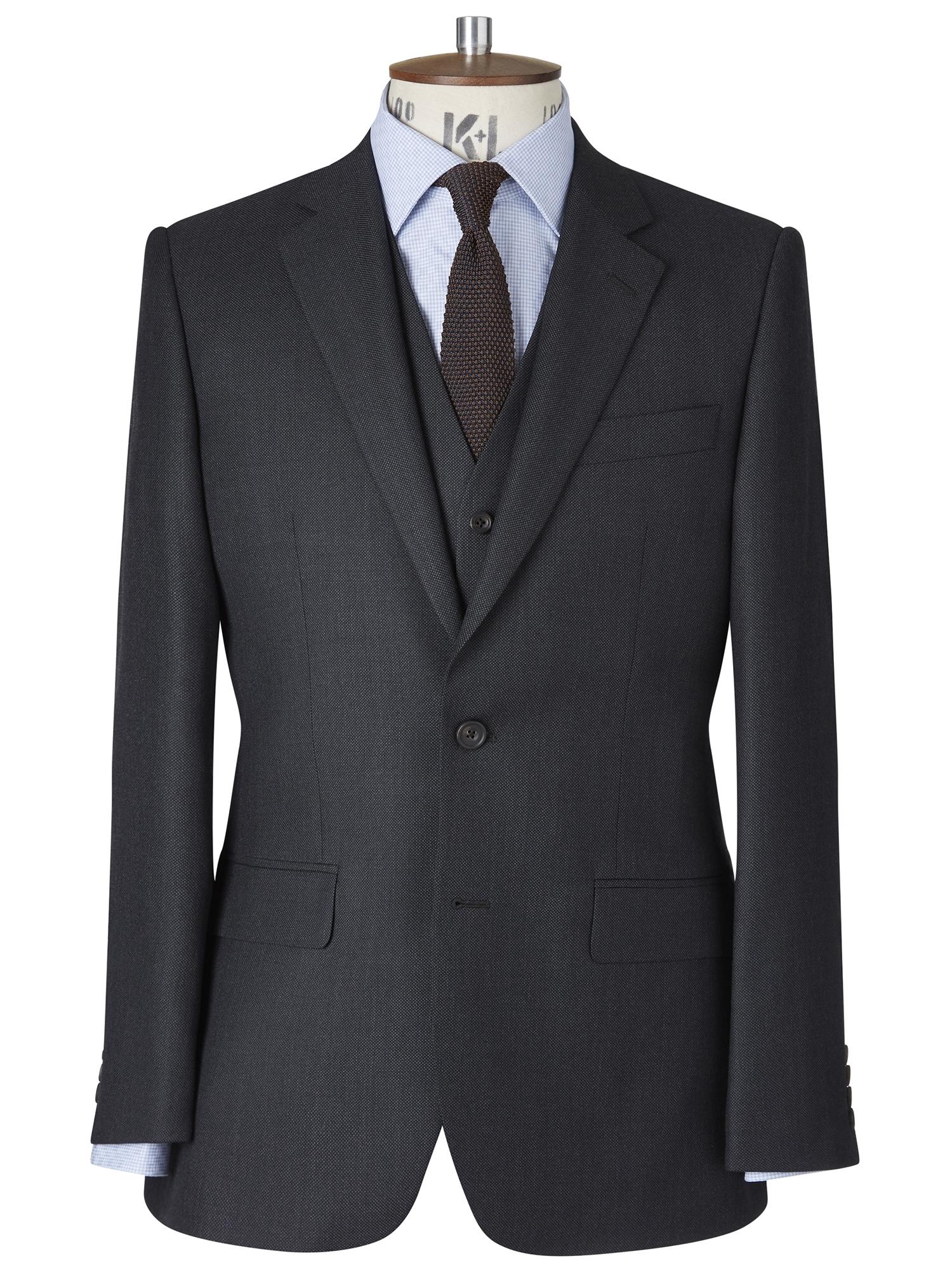 CHESTER BARRIE Classic Birdseye Berkeley Suit Jacket