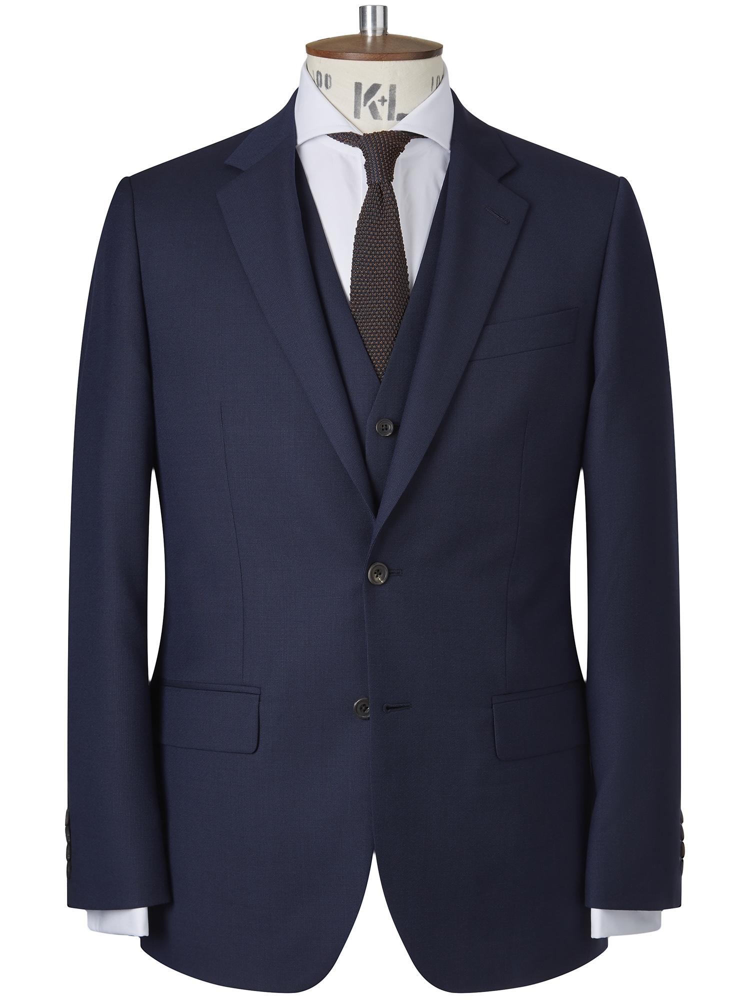 CHESTER BARRIE Fine Pindot Berkeley Suit Jacket
